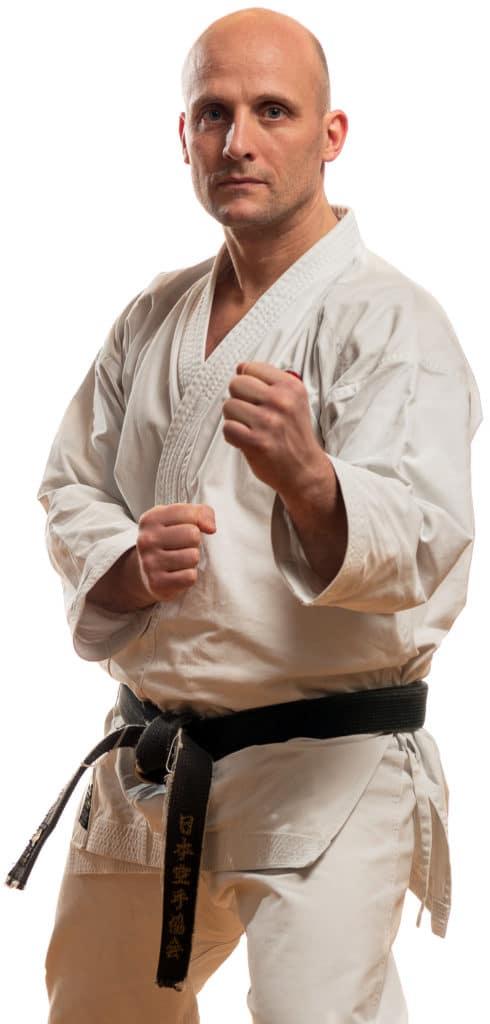 Fredrik Pettersen Hovedinnstruktør Bjørgvin-karateklubb, Fyllingsdlane Bergen