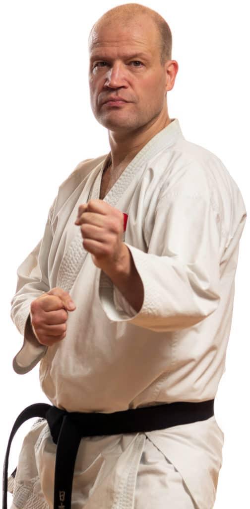 Kjetil Eidsnes Instruktør Bjørgvin karateklubb Fyllingsdalen Bergen