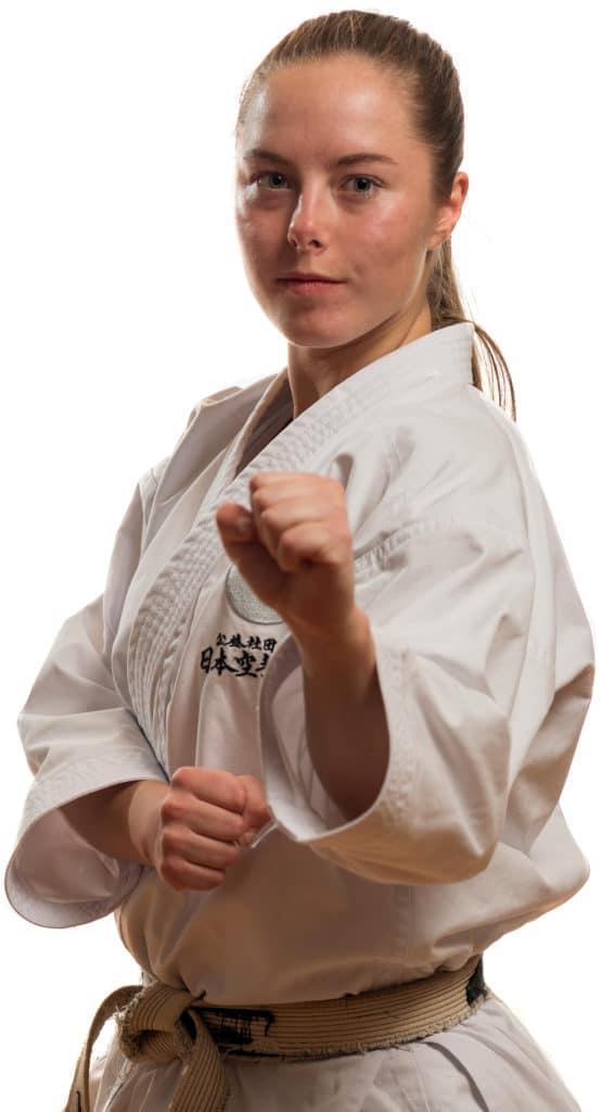 Marte Skodvin Mjåtvedt Instruktør Bjørgvin Karateklubb Fyllingsdalen-Bergen