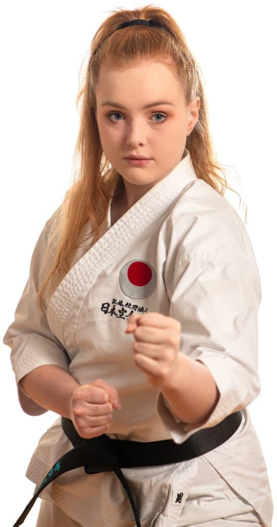 Othilie Langhom Instruktør Bjørgvin karateklubb Fyllingsdalen Bergen