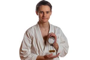 Årets karateka, Sondre Utkilen ved Bjørgvin karateklubb