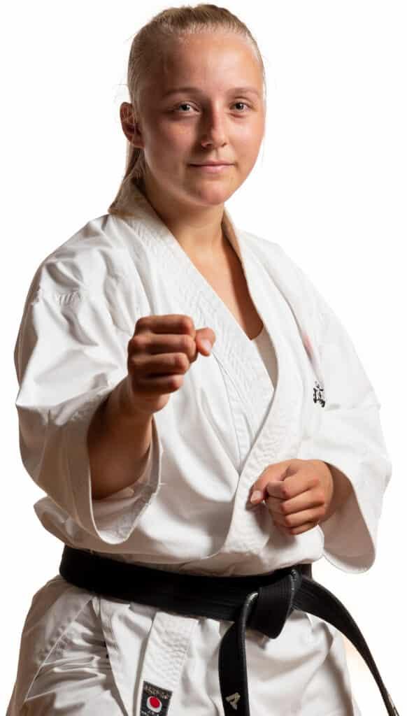 Maren Aamodt er Instruktør i Bjørgvin Karateklubb Fyllingsdalen, Bergen