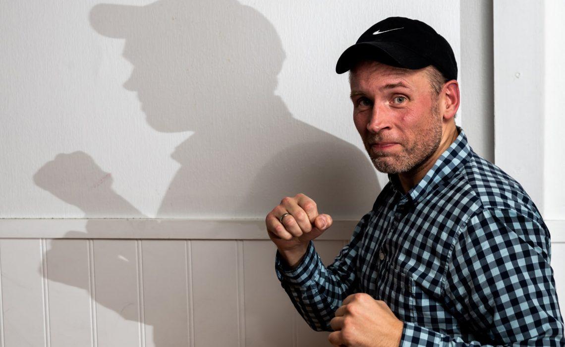 Vegard-Hordnes har trent karate hos Bjørgvin karateklubb i seks-år.